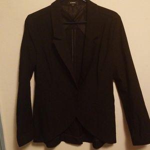 Express blazer black sz L jacket